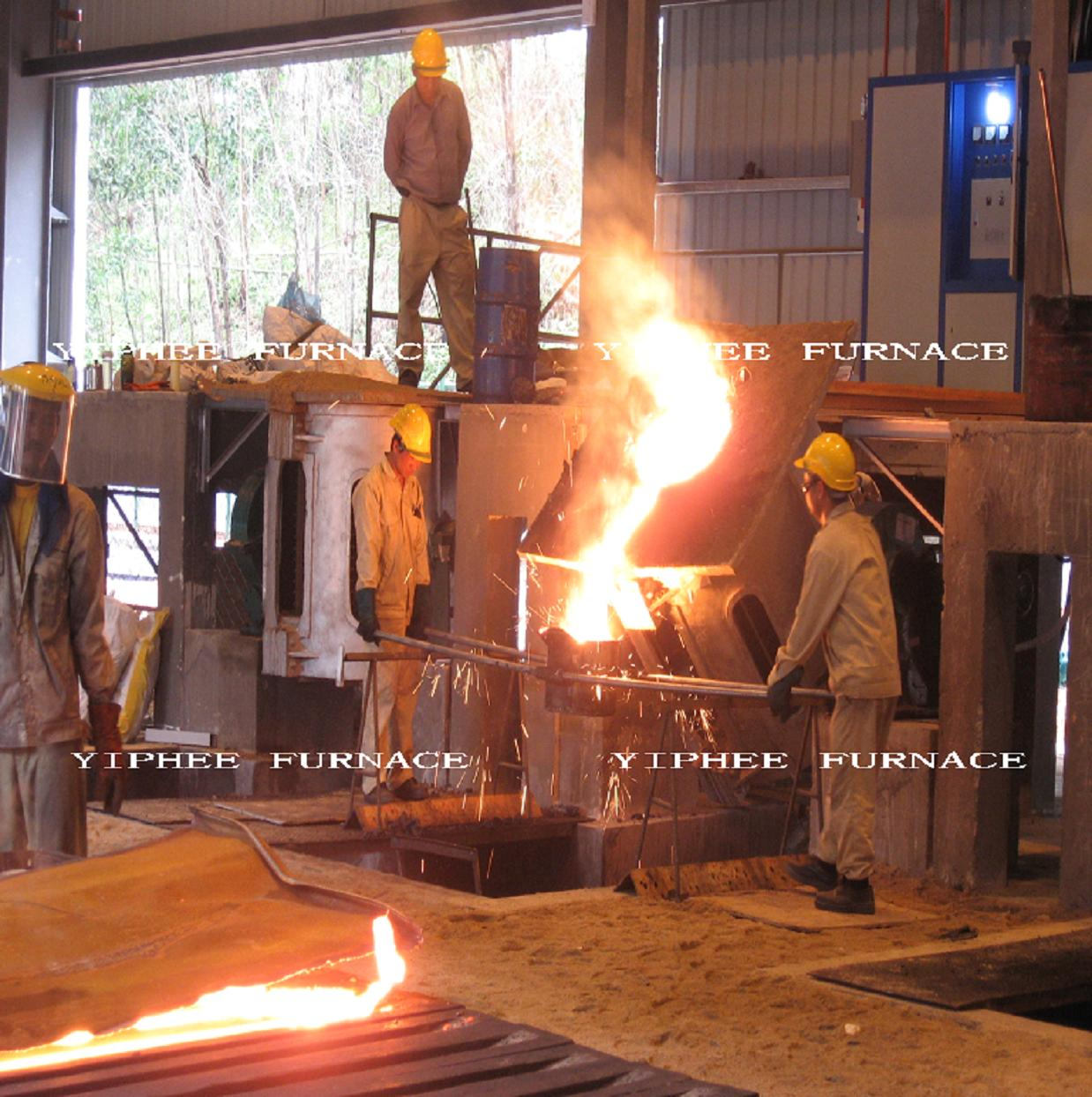 1000Kg induction furnace