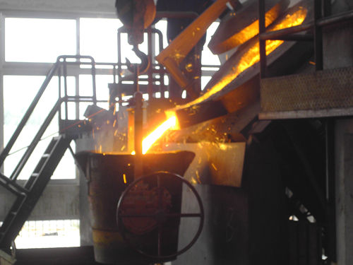 Stainless steel melting process in induction melting furnace