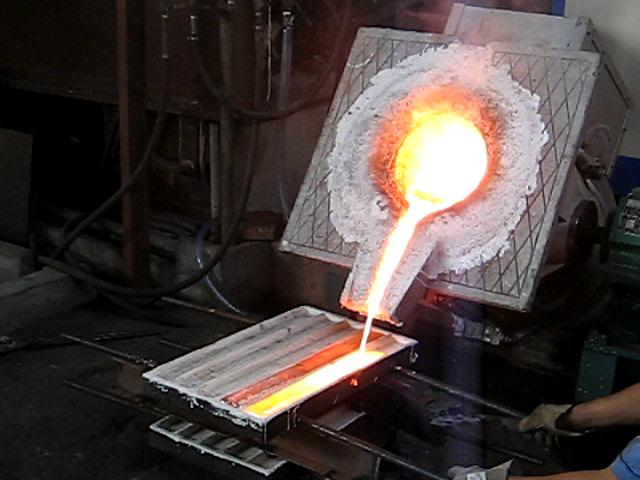 Application of induction furnace
