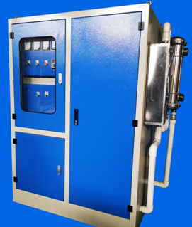Modular induction furnace control cabinet